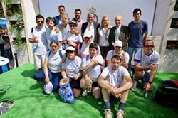 Acell Foundation players take to the court at ATP Barcelona Open