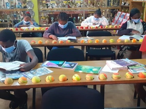 Tennis, meals and help with school work during Covid
