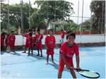 Tennis is moving forward in Kep, Cambodia!
